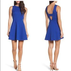 Blue Flared Felicity & Coco Midi Dress | Petite